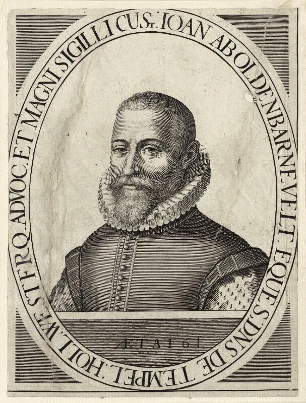 Sir John van Olden Barnavelt (Johan van Oldenbarnevelt), after Unknown artist, mid to late 17th century - NPG D26248 - © National Portrait Gallery, London