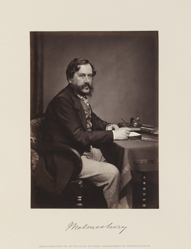 James Howard Harris, 3rd Earl of Malmesbury, by and published by William Walker, published 1867 - NPG Ax15845 - © National Portrait Gallery, London