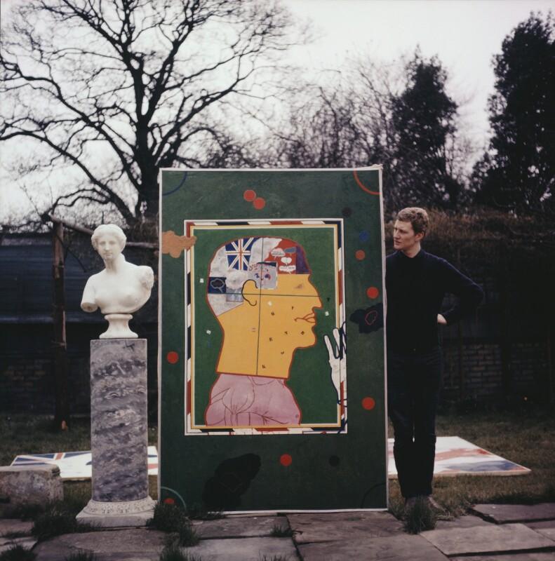 Derek Boshier, by Tony Evans, March 1962 - NPG x131145 - © estate of Tony Evans