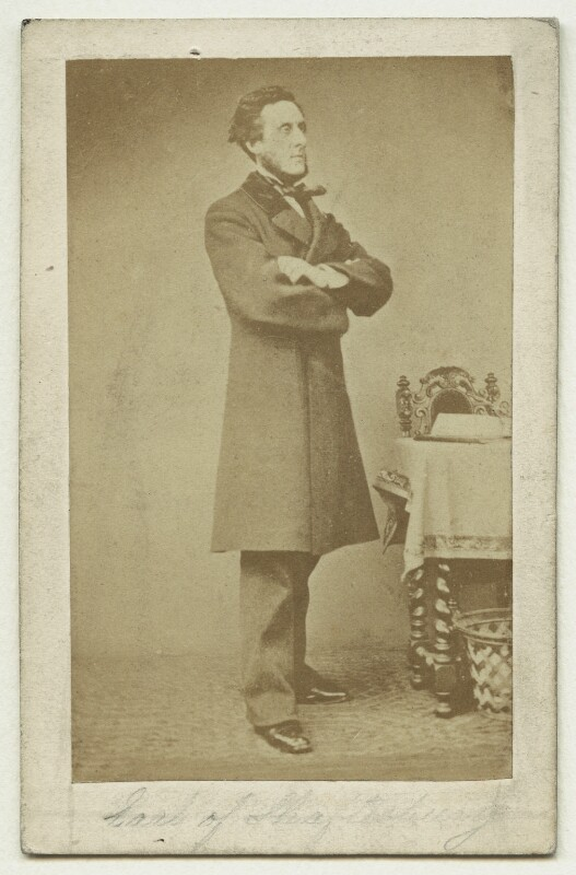 Anthony Ashley-Cooper, 7th Earl of Shaftesbury, published by Ashford Brothers & Co, after  Henry Hering, 1860s - NPG x22522 - © National Portrait Gallery, London