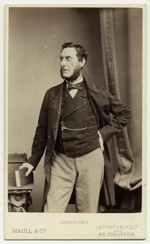 Anthony Ashley-Cooper, 7th Earl of Shaftesbury, by Maull & Co, 1870s - NPG x45951 - © National Portrait Gallery, London