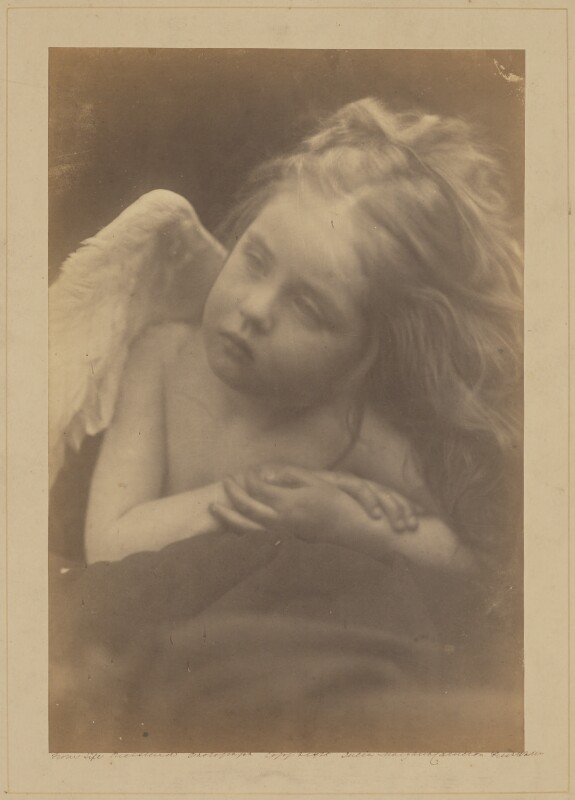 Daisy Taylor, by Julia Margaret Cameron, 1872 - NPG x18027 - © National Portrait Gallery, London