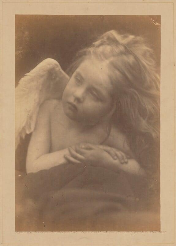Daisy Taylor, by Julia Margaret Cameron, 1872 - NPG x18027 - © National Portrait Gallery, London