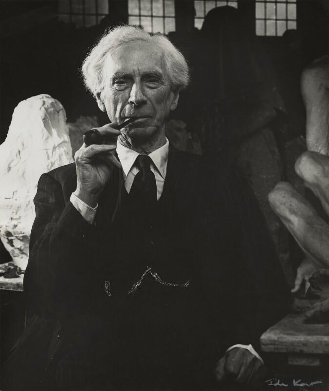 Bertrand Arthur William Russell, 3rd Earl Russell, by Ida Kar, 1953 - NPG x131164 - © National Portrait Gallery, London