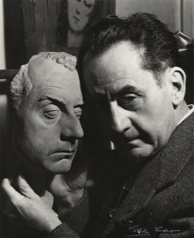 Man Ray, by Ida Kar, 30 March 1954 - NPG x131161 - © National Portrait Gallery, London