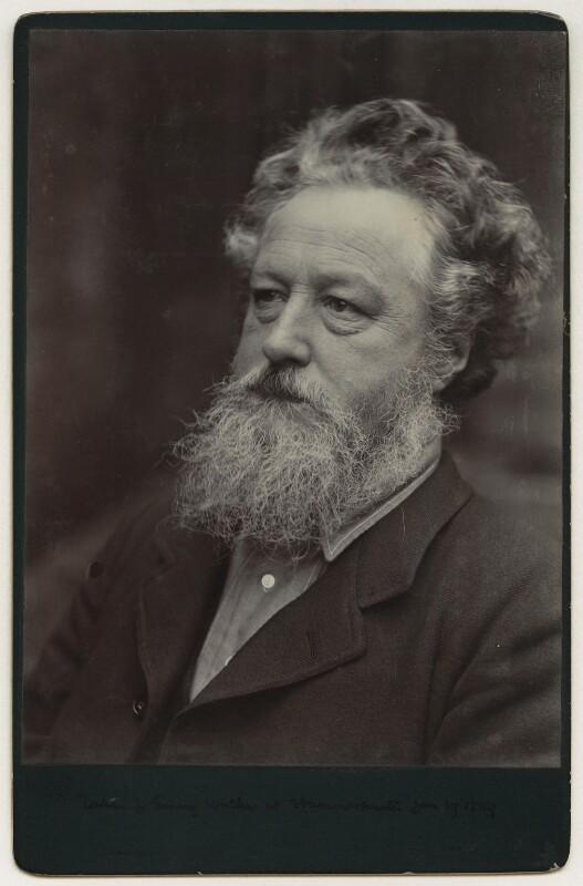William Morris, by Sir Emery Walker, 19 January 1889 - NPG x3731 - © National Portrait Gallery, London