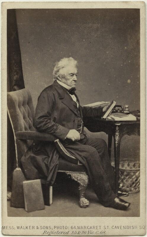James Parke, 1st Baron Wensleydale, by William Walker & Sons, 1862-1866 - NPG x27343 - © National Portrait Gallery, London