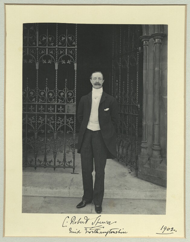 Charles Robert Spencer, 6th Earl Spencer, by Benjamin Stone, 1902 - NPG x35095 - © National Portrait Gallery, London
