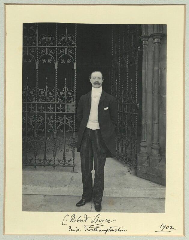 Charles Robert Spencer, 6th Earl Spencer, by Sir (John) Benjamin Stone, 1902 - NPG x35095 - © National Portrait Gallery, London