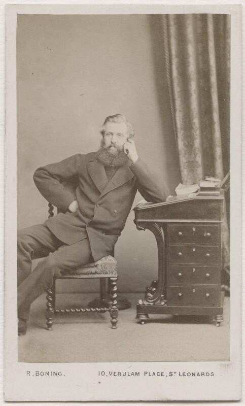 John Poyntz Spencer, 5th Earl Spencer, by Robert Boning, 1860s - NPG Ax7451 - © National Portrait Gallery, London
