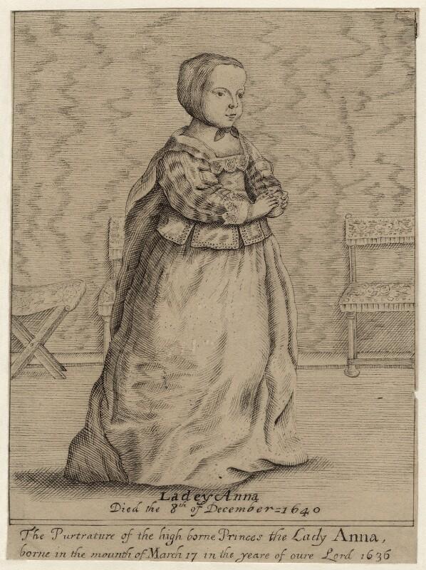 Princess Anne, after Unknown artist, 17th century - NPG D26443 - © National Portrait Gallery, London