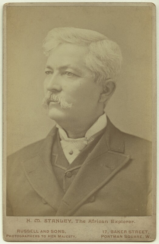 Sir Henry Morton Stanley, by James Russell & Sons, circa 1890 - NPG x13207 - © National Portrait Gallery, London