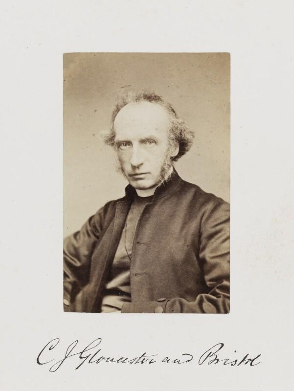 Charles John Ellicott, by Samuel Alexander Walker, published 1874 - NPG Ax29229 - © National Portrait Gallery, London