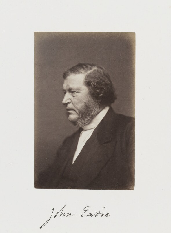 John Eadie, by Samuel Alexander Walker, published 1874 - NPG Ax29239 - © National Portrait Gallery, London