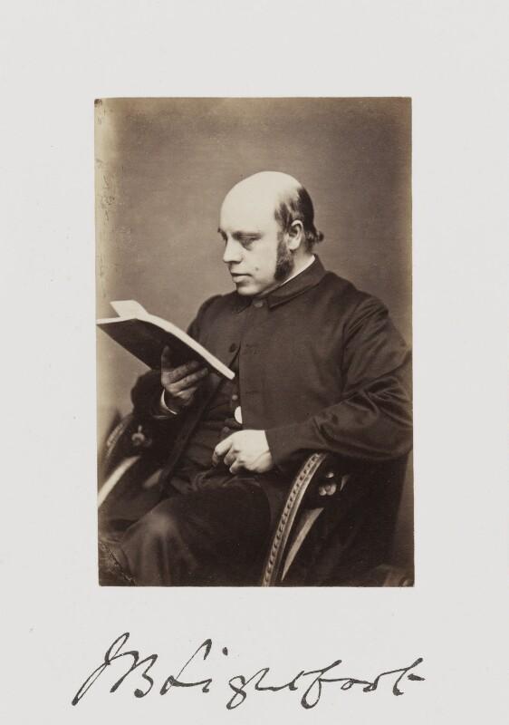 Joseph Barber Lightfoot, by Samuel Alexander Walker, published 1874 - NPG Ax29244 - © National Portrait Gallery, London