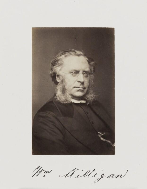 William Milligan, by Samuel Alexander Walker, published 1874 - NPG Ax29245 - © National Portrait Gallery, London