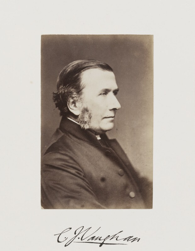 Charles John Vaughan, by Samuel Alexander Walker, published 1874 - NPG Ax29252 - © National Portrait Gallery, London