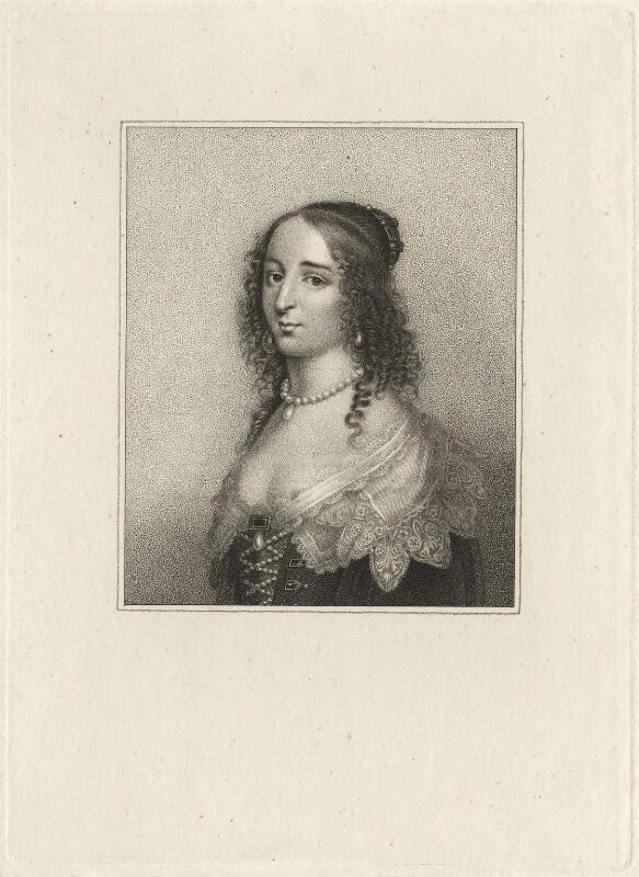 Elizabeth, Princess of the Palatinate, after Crispyn van den Queborne, early 19th century - NPG D26471 - © National Portrait Gallery, London