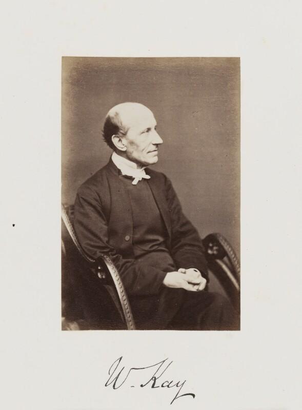 William Kay, by Samuel Alexander Walker, published 1874 - NPG Ax29262 - © National Portrait Gallery, London