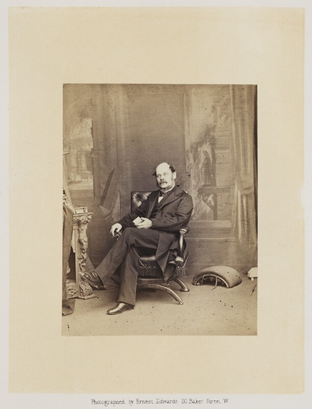 David Thomas Ansted, by Ernest Edwards, published by  Alfred William Bennett, published 1865 - NPG Ax14758 - © National Portrait Gallery, London