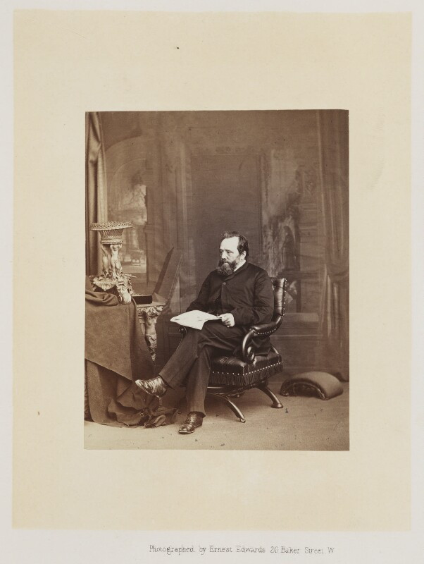 Edwin Lankester, by Ernest Edwards, published by  Alfred William Bennett, published 1865 - NPG Ax14759 - © National Portrait Gallery, London