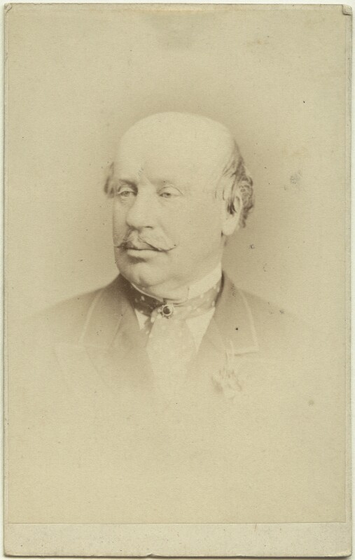 Guildford James Hillier Onslow, by London Stereoscopic & Photographic Company, circa 1873 - NPG Ax28439 - © National Portrait Gallery, London