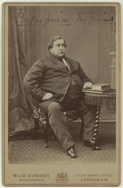 'Before Prison - The Claimant' (Arthur Orton), by W. & D. Downey, circa 1871-1874 - NPG x29188 - © National Portrait Gallery, London