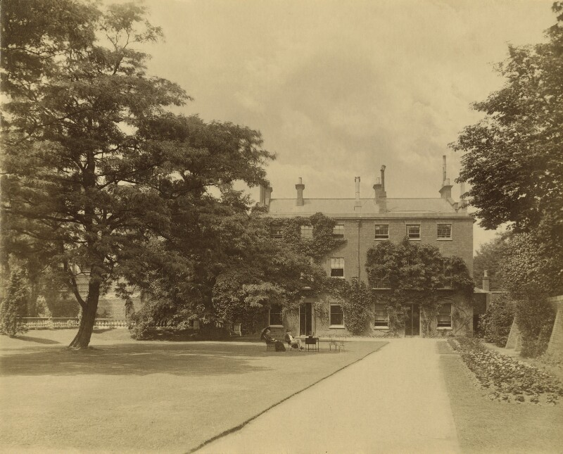 Stowey House, by Thomas Fall, early 1880s - NPG x13113 - © National Portrait Gallery, London