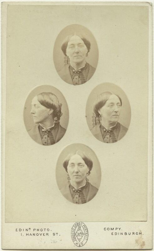 Elizabeth Vacher (née Pocock), by Edinburgh Photographic Company, late 1860s - NPG x27115 - © National Portrait Gallery, London