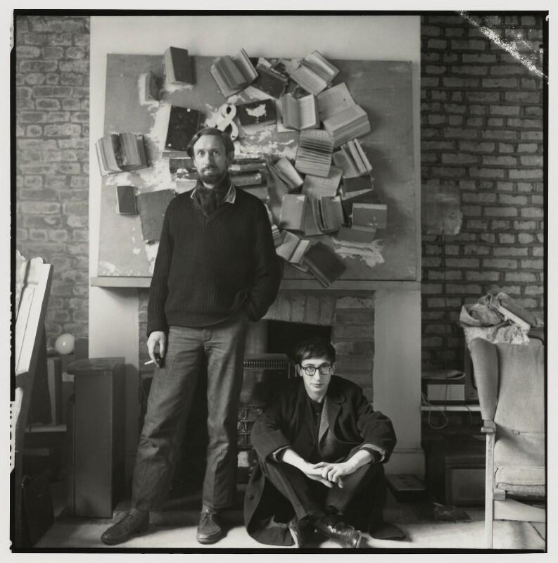 John Aubrey Clarendon Latham; John Kasmin, by Ida Kar, 1963 - NPG x131195 - © National Portrait Gallery, London