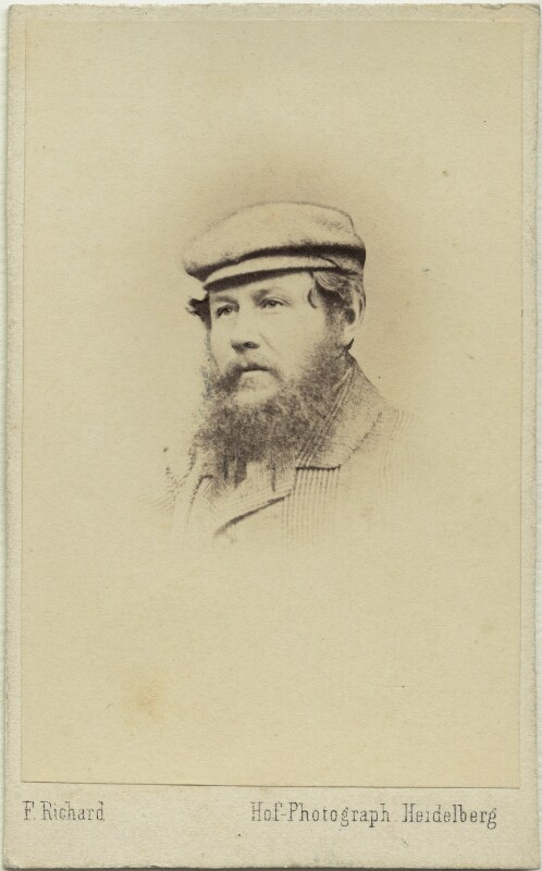 Claud Bowes-Lyon, 13th Earl of Strathmore and Kinghorne, by Franz Richard, 1860s - NPG x26570 - © National Portrait Gallery, London
