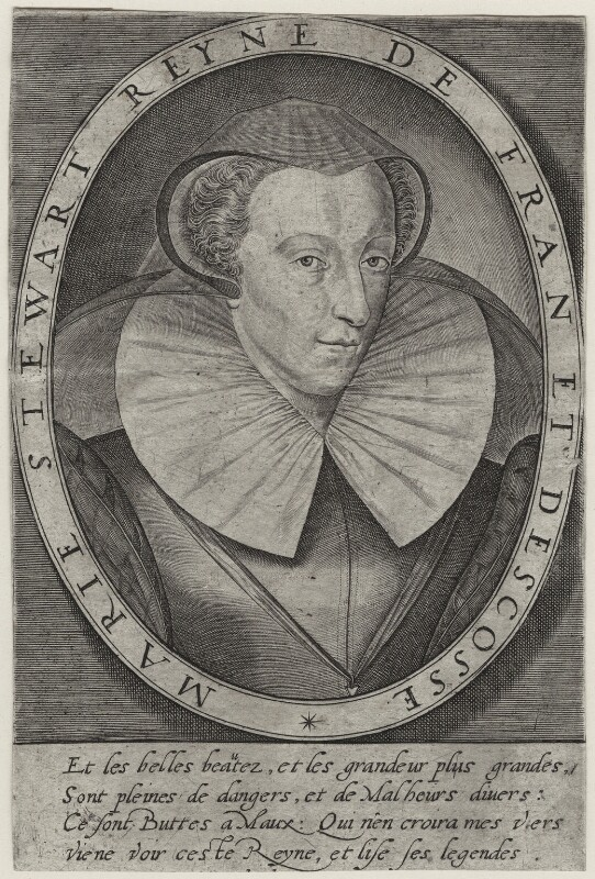 Mary, Queen of Scots, after Unknown artist, late 16th-early 17th century - NPG D32134 - © National Portrait Gallery, London