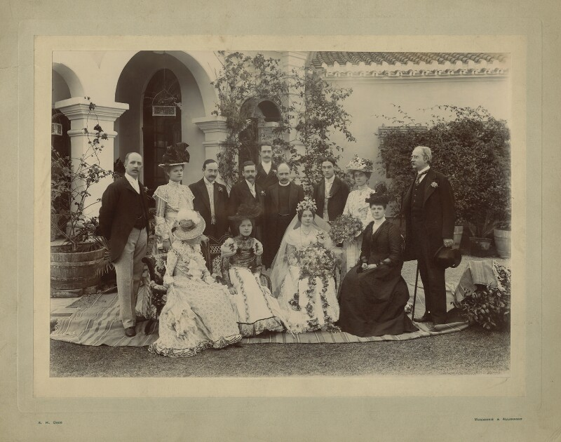The Wedding of Oliver Strachey and Ruby Mayer, by Sidney Herbert Dagg, January 1900 - NPG x129644 - © National Portrait Gallery, London
