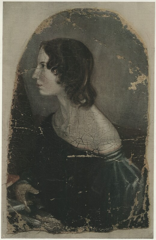 Emily Brontë, published by The Medici Society Ltd, after  Patrick Branwell Brontë, 1914 (1833) - NPG D32170 - © National Portrait Gallery, London