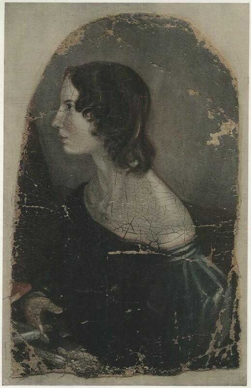 Emily Brontë, published by The Medici Society Ltd, after  Patrick Branwell Brontë, 1914 (1833) - NPG D32170 - © National Portrait Gallery, London