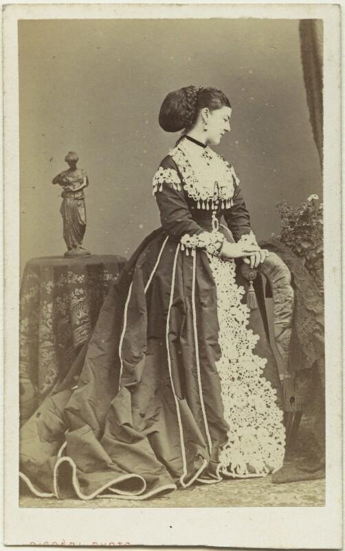 Lady Susan Charlotte Catherine Vane-Tempest (née Pelham-Clinton), by Disdéri, 1867 - NPG x29297 - © National Portrait Gallery, London