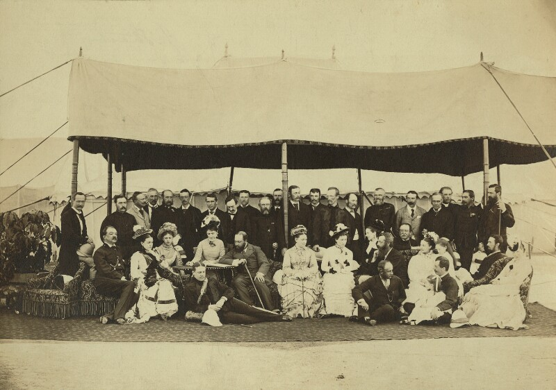 The King's visit to India, possibly by Bourne & Shepherd, 1875-1876 - NPG x129649 - © National Portrait Gallery, London