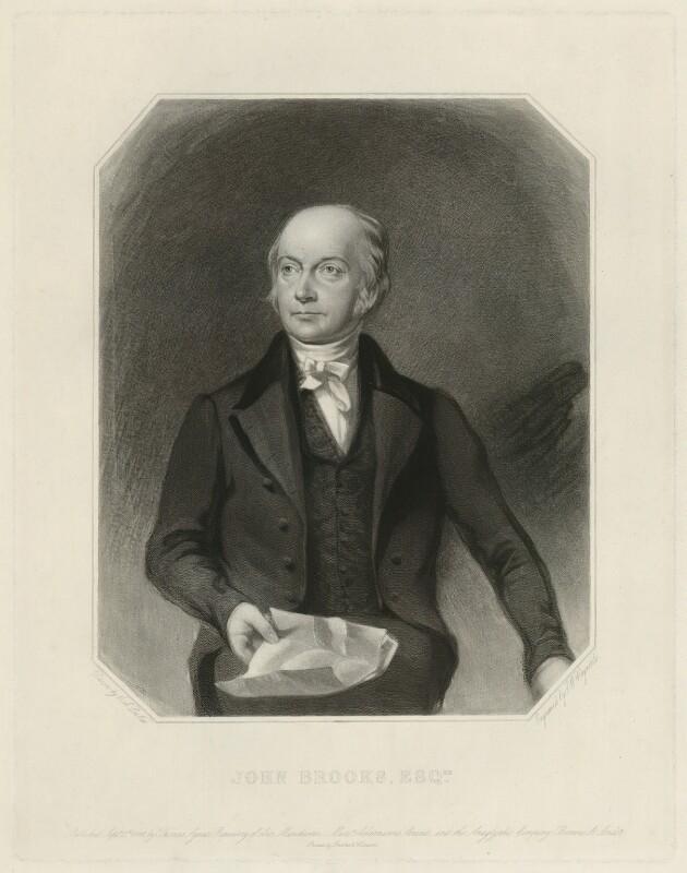 John Brooks, by Samuel William Reynolds, after  Charles Allen Duval, published 1822 - NPG D32187 - © National Portrait Gallery, London