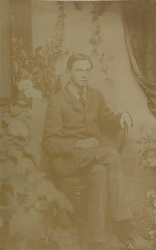 James Beaumont Strachey, by Unknown photographer, circa 1912 - NPG Ax13017 - © National Portrait Gallery, London