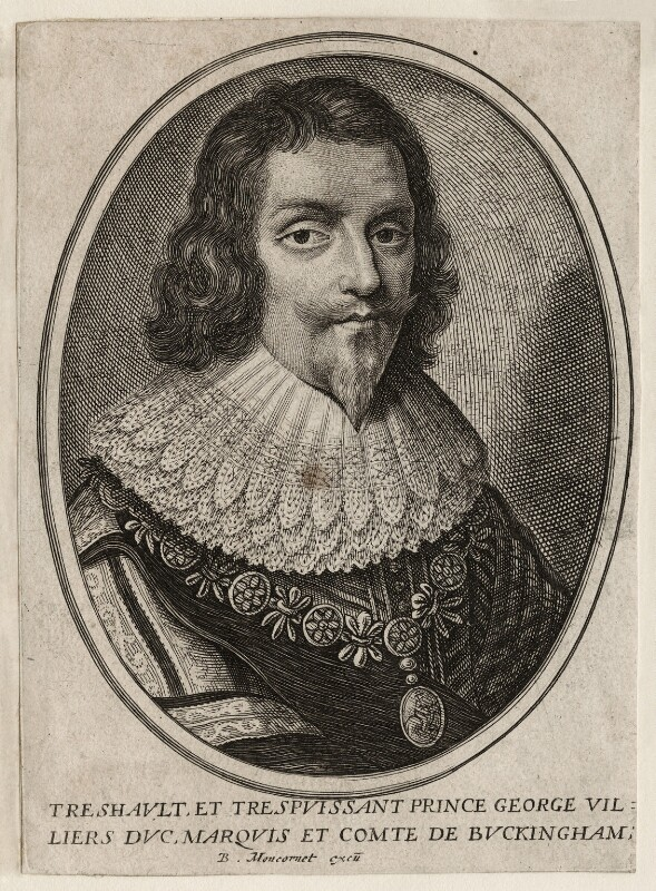 George Villiers, 1st Duke of Buckingham, published by Balthasar Moncornet, 1657 - NPG D26517 - © National Portrait Gallery, London