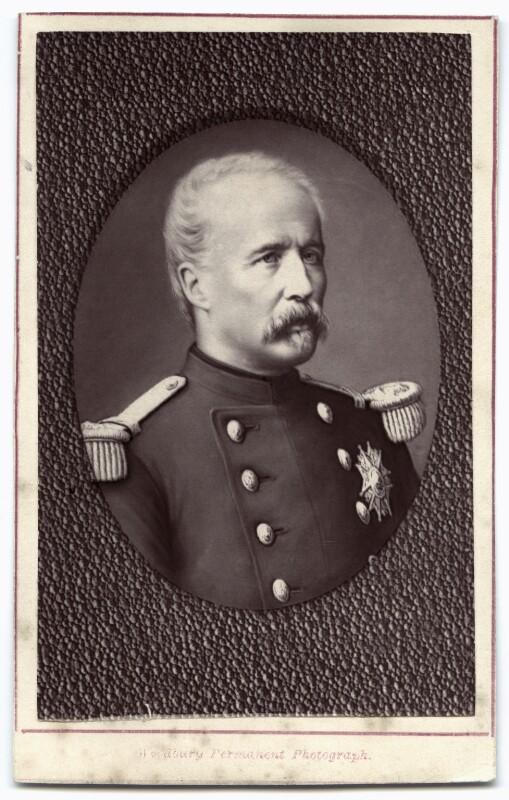 Marie Edme Patrice Maurice de Mac-Mahon, Duke of Magenta, by Pierre Petit, 1870s - NPG x74304 - © National Portrait Gallery, London