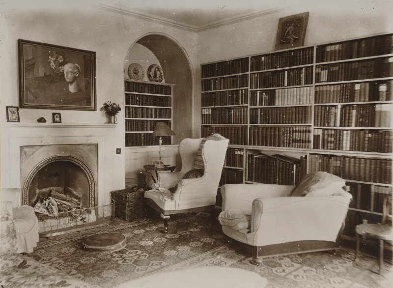 Ham Spray House (sitting room), by Unknown photographer, mid-late 1920s - NPG Ax13035 - © National Portrait Gallery, London