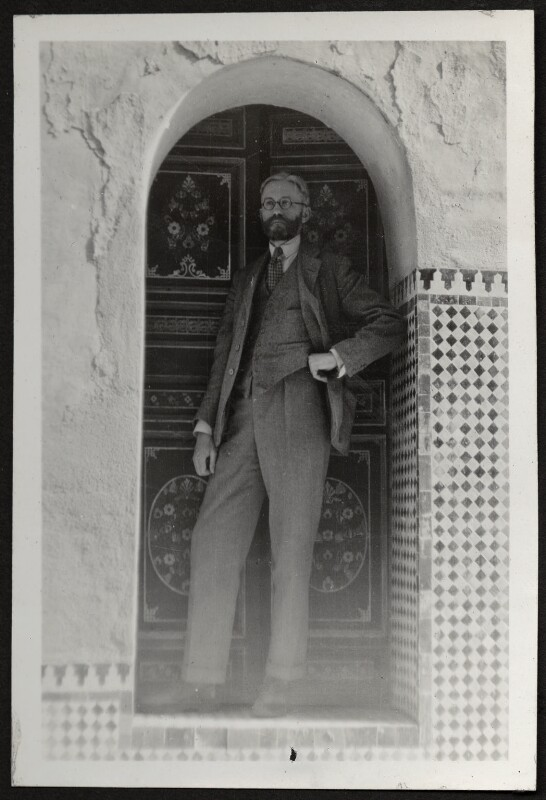 James Beaumont Strachey, probably by Alix Strachey, circa 1930 - NPG Ax24026 - © National Portrait Gallery, London