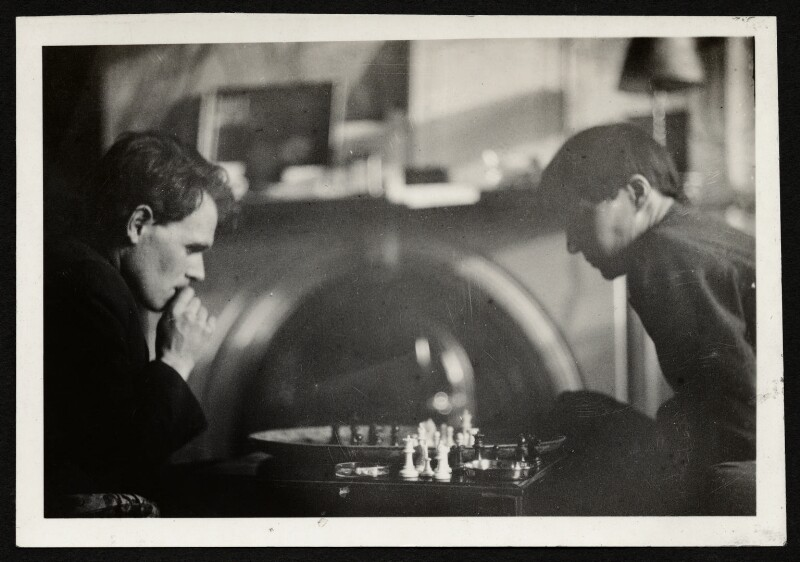 Anthony Asquith; Alix Strachey, by Unknown photographer, late 1920s - NPG Ax131211 - © National Portrait Gallery, London