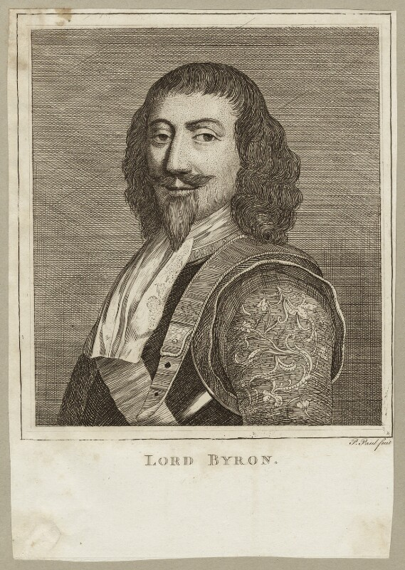 John Byron, 1st Baron Byron, by P. or S. Paul (Samuel de Wilde?), 1770s - NPG D26620 - © National Portrait Gallery, London