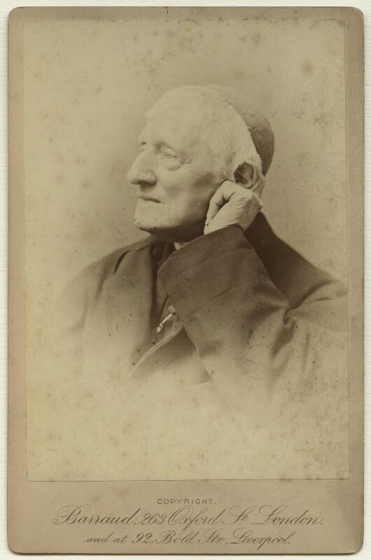 John Newman, by Herbert Rose Barraud, 1887 - NPG x21516 - © National Portrait Gallery, London