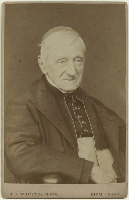 John Newman, by Henry Joseph Whitlock, 1879 - NPG x21518 - © National Portrait Gallery, London