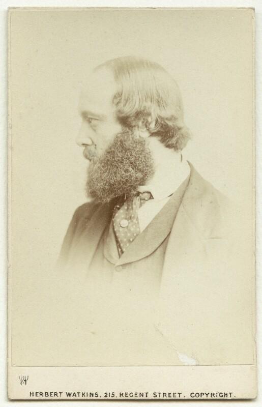 Robert Gascoyne-Cecil, 3rd Marquess of Salisbury, by Herbert Watkins, early 1870s - NPG x75846 - © National Portrait Gallery, London