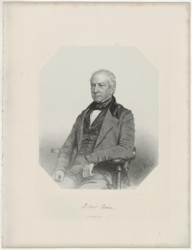 Robert Brown, by Thomas Herbert Maguire, 1850 - NPG D32223 - © National Portrait Gallery, London