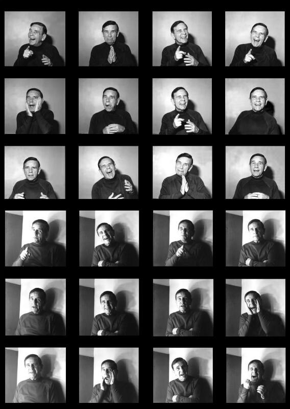 Sir Norman Wisdom, by Lou Boileau, 1995 - NPG x131217 - © Lou Boileau